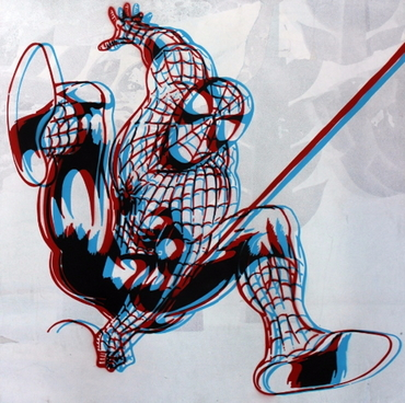 The Amazing Spiderman (3D effect)