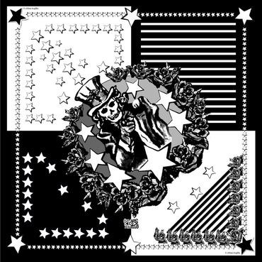 America (Black & White)