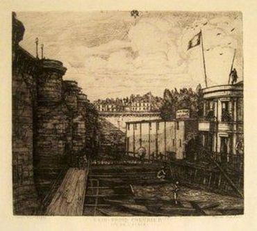 Bain-Froid Chevrier, 1864