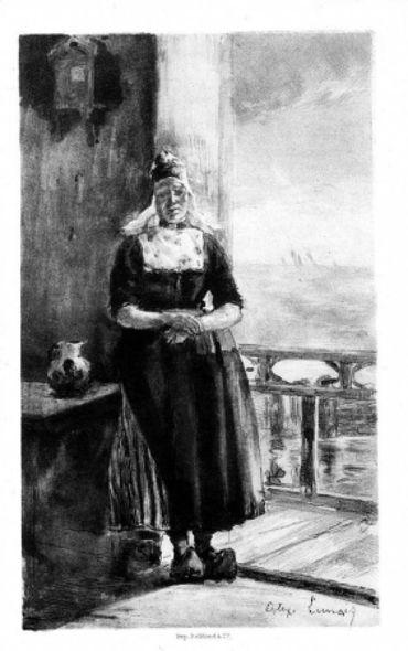 Aux Bords Du Zuyderzee, 1891