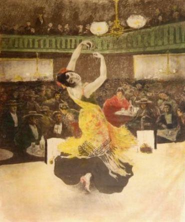 Une Nuit Au burrero, 1897