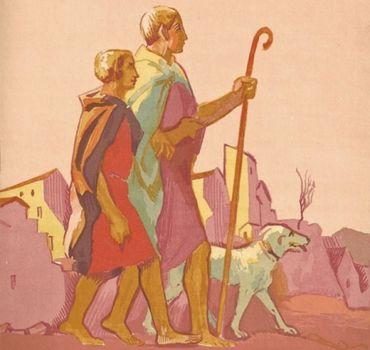 Le Livre De Tobie, Traduit Sur La Vulgate.illustrations De Maurice Denis, Gravées Sur Bois Par Jacques Beltrand