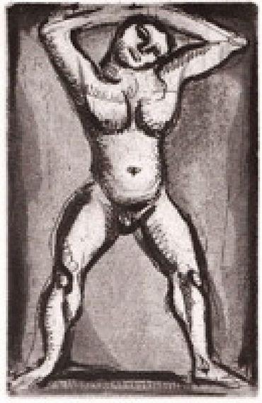 Rouault: Oeuvre Gravé (Catalogue Raisonné) [With An Original Etching] acrobate