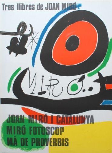Tres Llibres De Joan Miró