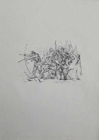 Kampf Der Hellenen Gegen Die Barbaren