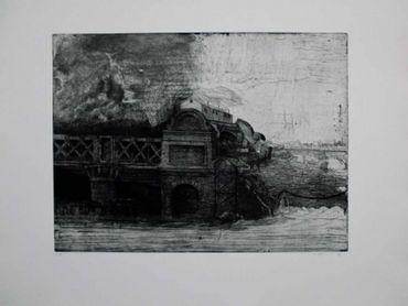 Eisenbahnbrücke / Railroad Bridge