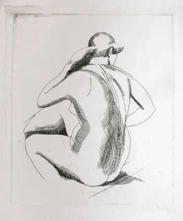 Isabel Bishop. Eight Etchings, 1925-1931.