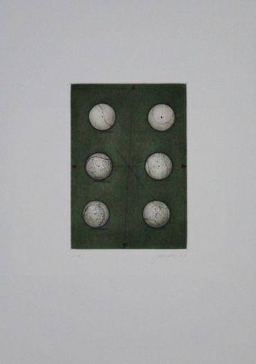Sechs Bälle / Six Balls