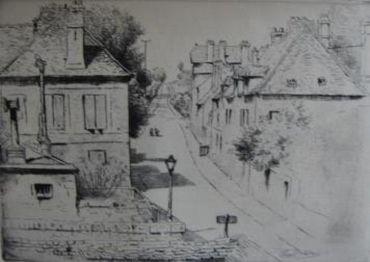 La Rue De Paris, À Rozoy-En-Brie