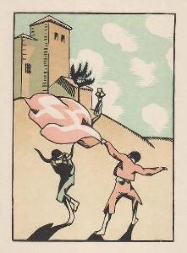 Douze Dessins Pour Amour De Goya, Composés Et Gravés Par Hermann-Paul