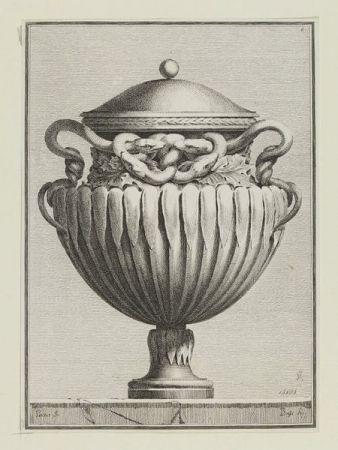 Suite Des Vases Tirée Du Cabinet De Monsieur...