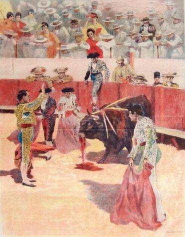 La Corrida: quieto!, 1897