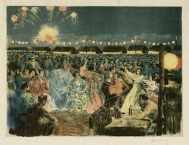 Fête De Nuit Sur Les Bords Du Guadalquivir, 1897
