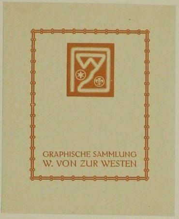 Graphische Sammlung W. Von Zur Westen