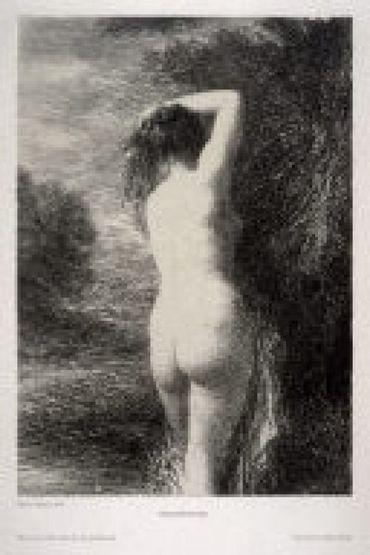 Baigneuse Debout (3º Planche), 1899