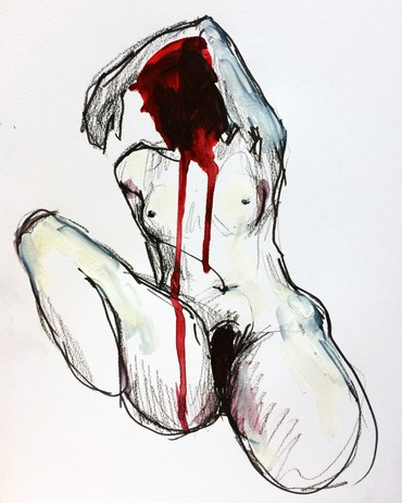Figure study (Red)