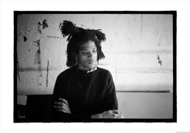Basquiat, melancholic, New York, 1983