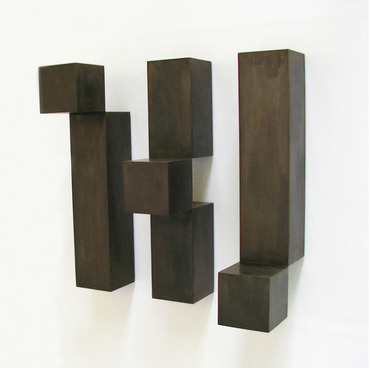 CUBE FROM LEFT TO RIGHT AND UP AND DOWN (Triptychon)