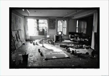 Basquiat's windows on Crosby Street, New York, 1983