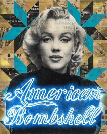 American Bombshell Marilyn