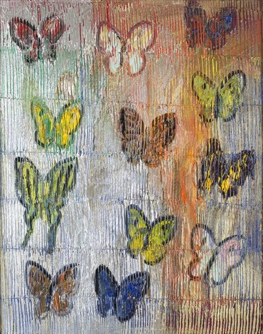 Untitled (Metallic Butterflies)