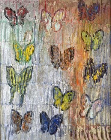 Untitled (Metallic Butterflies)