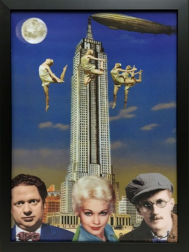 Dylan Thomas, Kim Novak and James Joyce in New York