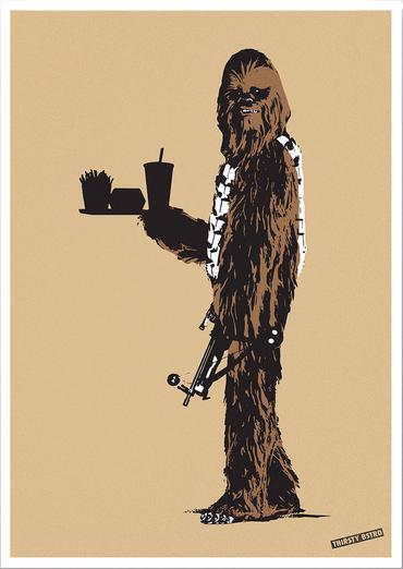 Chewbacca Fast Food