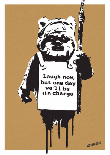 Laugh Now Ewok