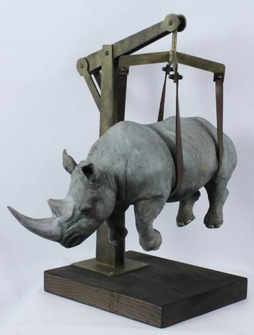 l peso del tempo sospeso rhino moyen