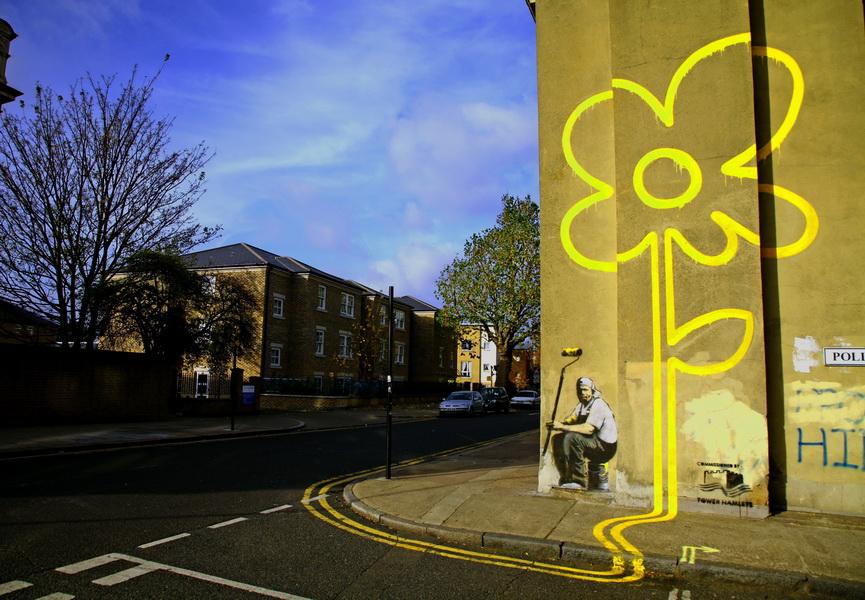 <b>Banksy Desktop Wallpapers</b> - <b>Wallpaper</b> Cave