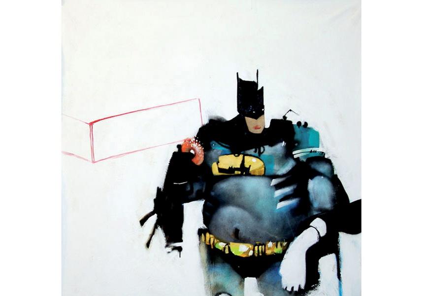 captain green home digital print batman america poster