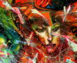 nude, girl, women, woman, painting, portrait, oil