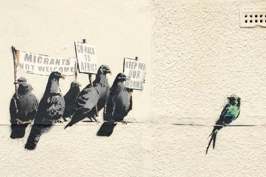 http://d2jv9003bew7ag.cloudfront.net/uploads/08-Banksy-Birds-of-a-Feather-photo-courtesy-banksy.co_.uk_-865x577.jpg