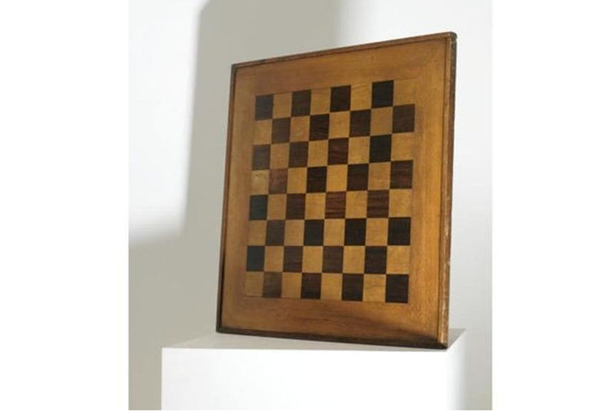 modern museum nude Marcel Duchamp Chessboard nude