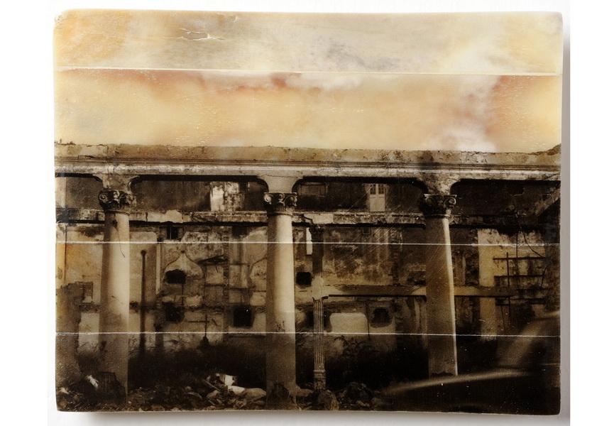 photographic print on gelatin and bone