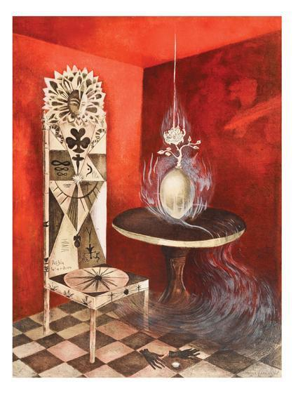 Leonora Carrington-La silla-2011
