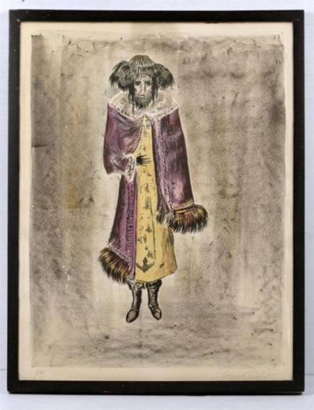 Leonora Carrington-Nechman, de la serie The Dybbuk-