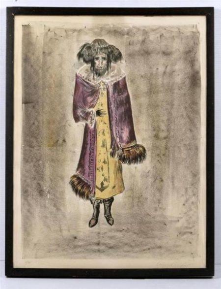 Leonora Carrington-Nechman, de la serie The Dybbuk-