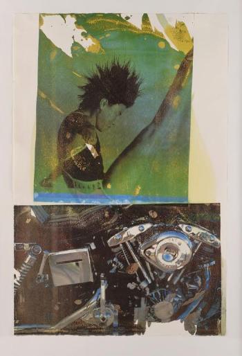 Robert Rauschenberg-Robert Rauschenberg - Sports (From Set Tribute 21)-1994