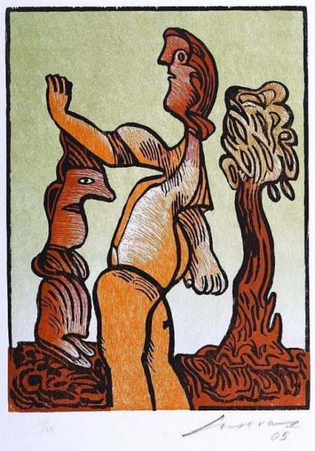 Leonora Carrington-Dos personajes-