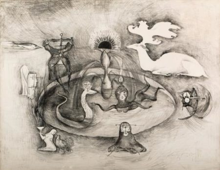 Leonora Carrington-Sesion espiritista-1974