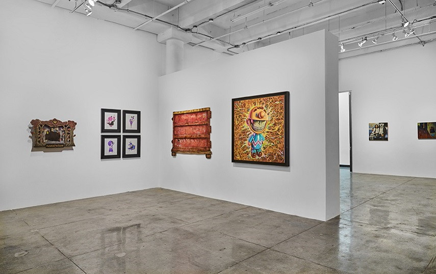 like installation view at Jonathan LeVine Projects