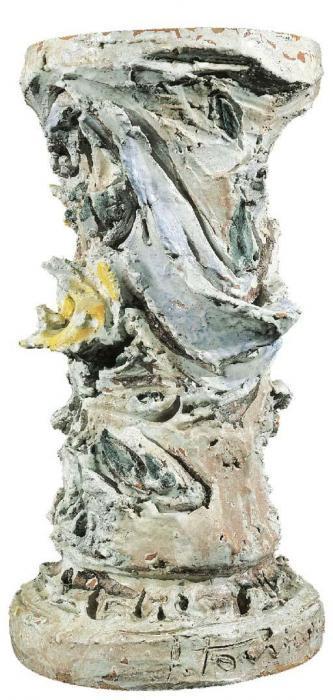 Lucio Fontana-Base di tavolo-1950
