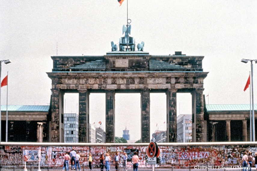 East Side Brandenburg Gate