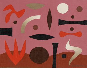 Le Corbusier-Traces de pas dans la nuituit 1948 - 1957-1957