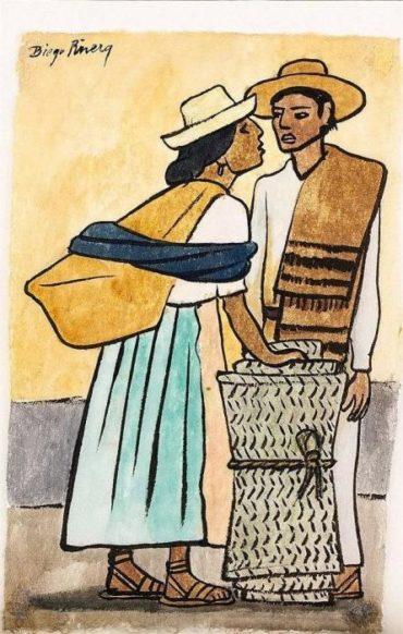 Diego Rivera-Campesinos-1940