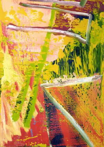 Gerhard Richter-Abstraktes Bild 520-4 (Abstract Painting 520-4)-1983