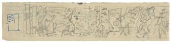 Maqbool Fida Husain-Assorted Studies-1950