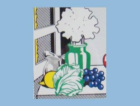 Roy Lichtenstein-Still life with cabbage-